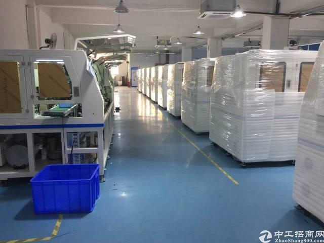 西乡黄田工业区楼上3000平方厂房出租