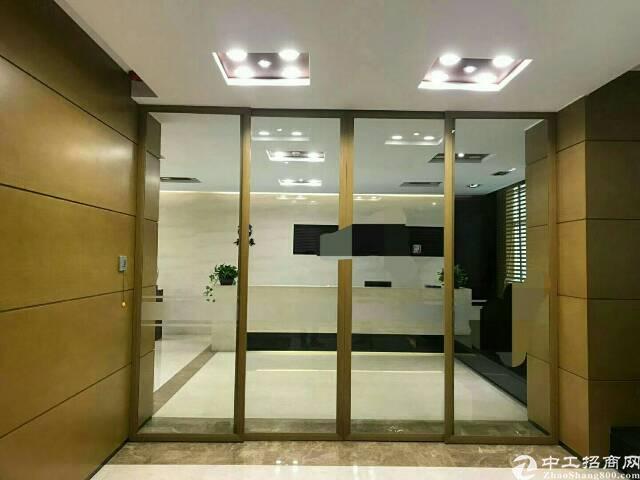西乡鹤洲办公楼1000平豪华装修出租