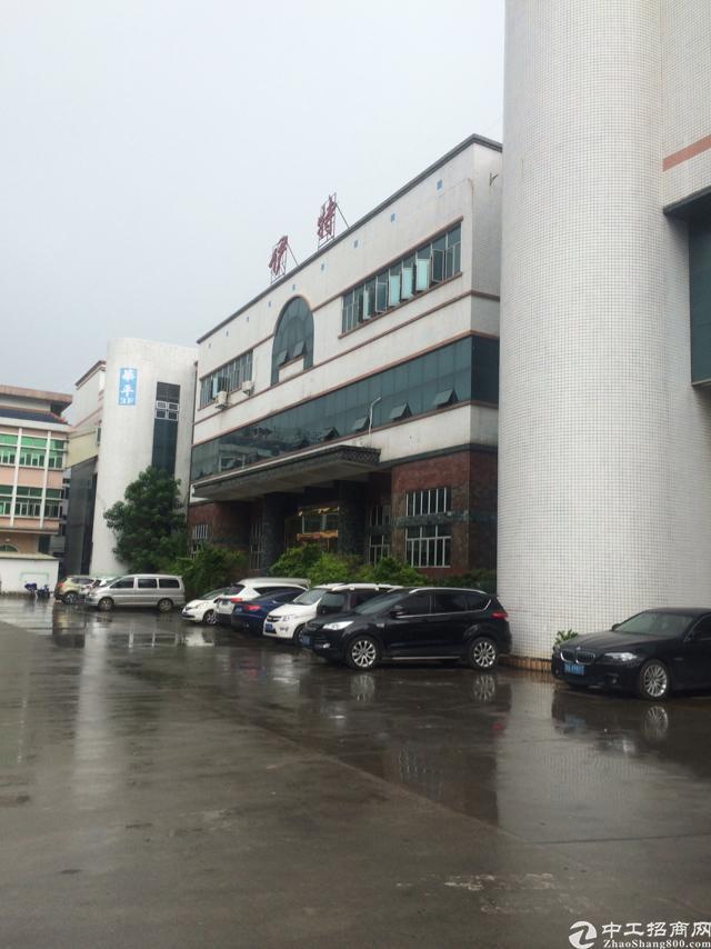 厦边工业园区2楼560㎡精装修办公室地坪漆
