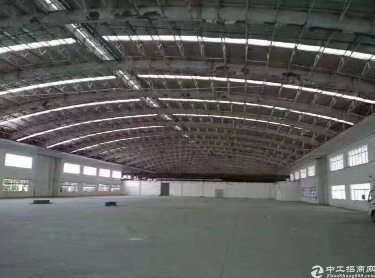 坂田独门独院5000平钢结构厂房出租