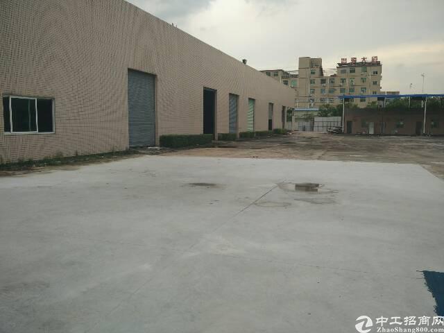 厚街白濠新出5500平方独院钢构厂房招租