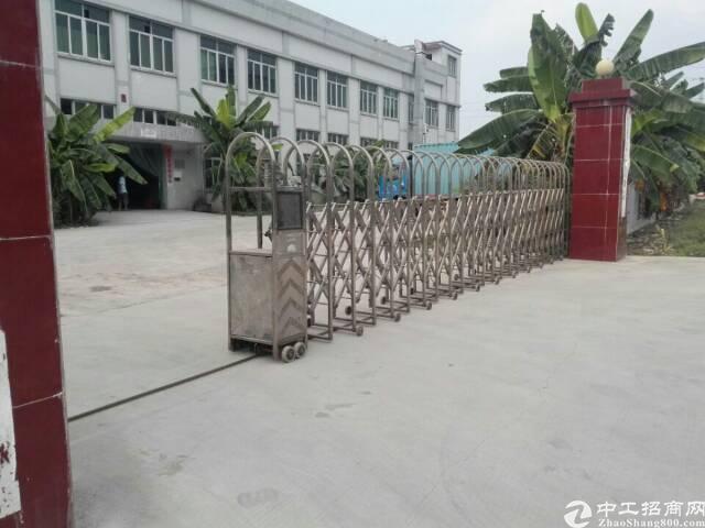 大型工业区内9成新独院标准两层厂房带牛角低价出租