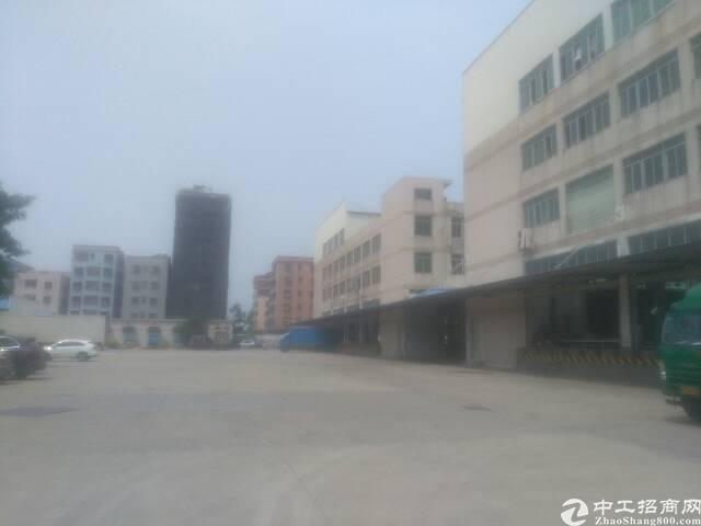 虎门沙角标准二楼厂房出租面积5400平租6元电630kva