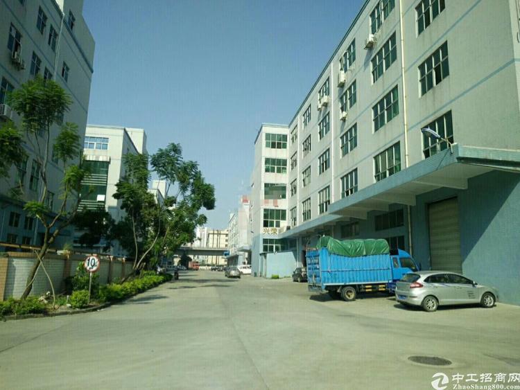 光明龙大高速出口1-5层11000平方独院厂房出租