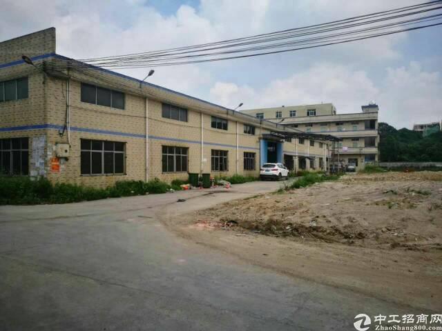 临近深圳新出单一层钢结构独门独院厂房3000平