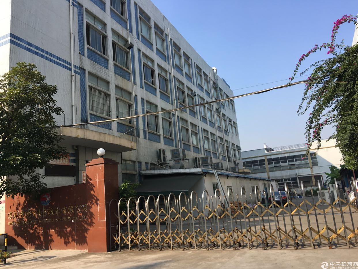 西乡固戍宝安大道附近独院8000平方厂房招租