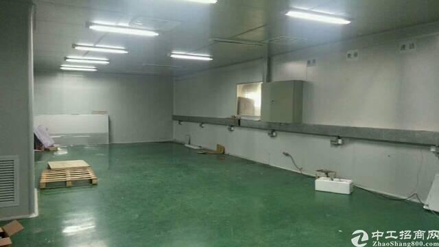 沙井松福大道附近2楼600平方带装修厂房