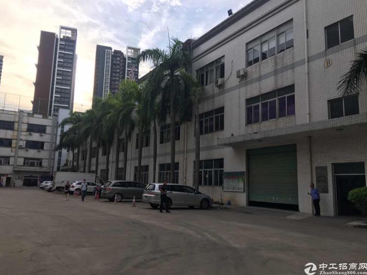 观澜 福民(独院8800平方空地大)厂房招租