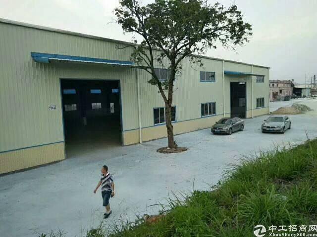 大朗镇竹山经典单一层钢构独院厂房 建筑面积3600平方(6间