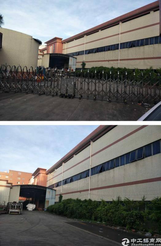 黄江镇7000平集体证独院厂房出售
