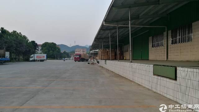 东莞新出钢构厂房带卸货平台,15000方。