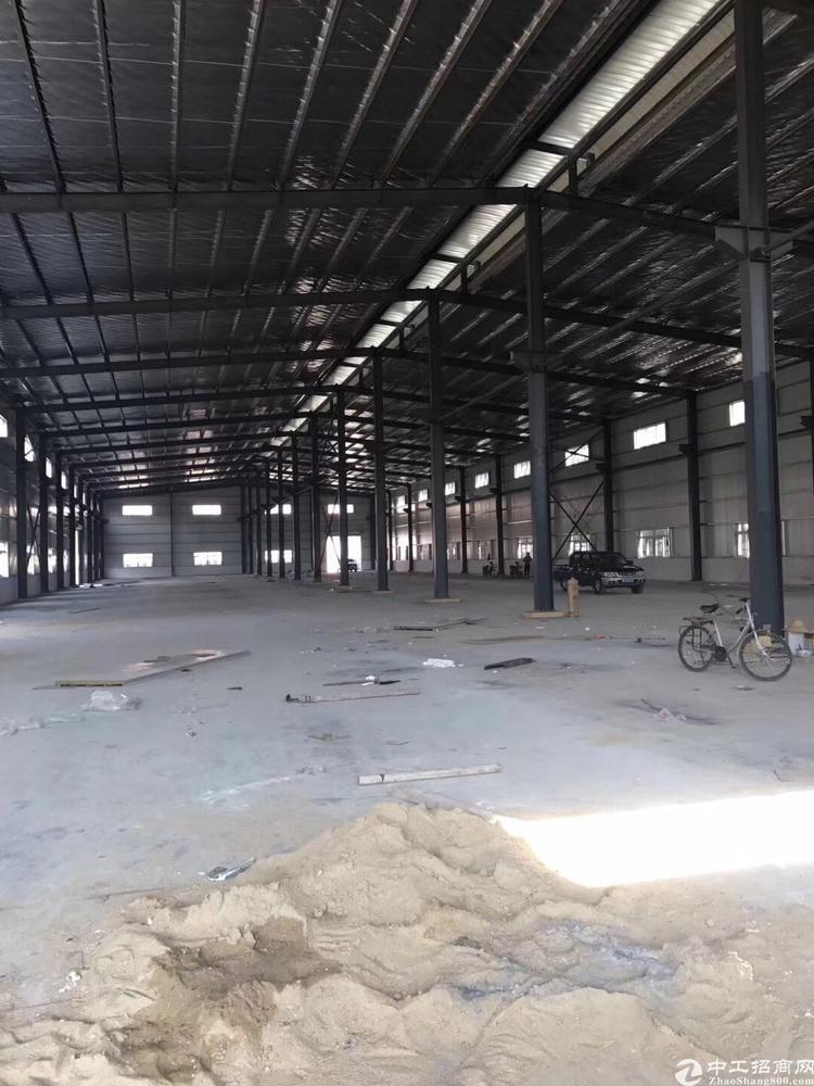 钢构到单一层4500平独院滴水9米可分租