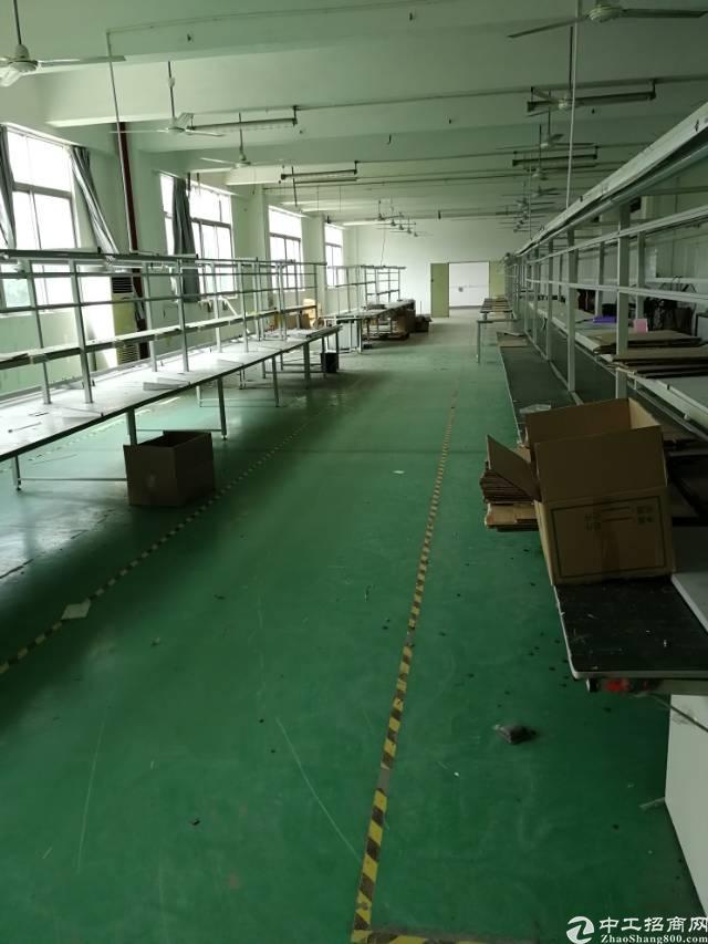 福永宝安大道新出带装修600平厂房