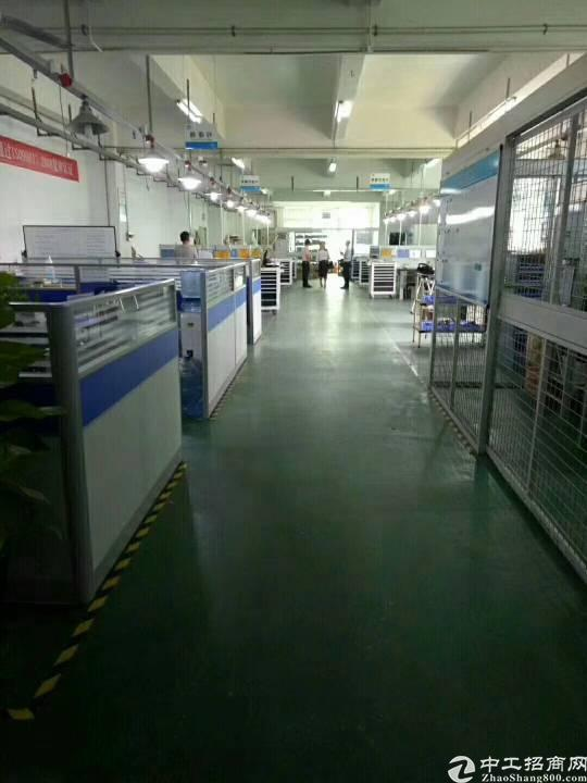 沙井高速出入口大型工业园内楼上精装修800平