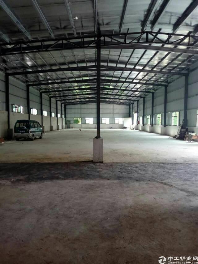 企石镇新出钢构厂房1300平方独院(可做污染)