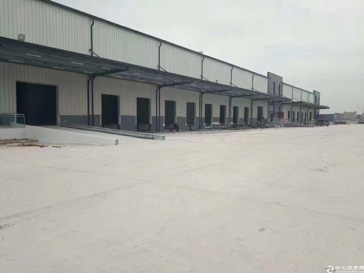 福永2.7万平大型物流基地出租有卸货台空地超大