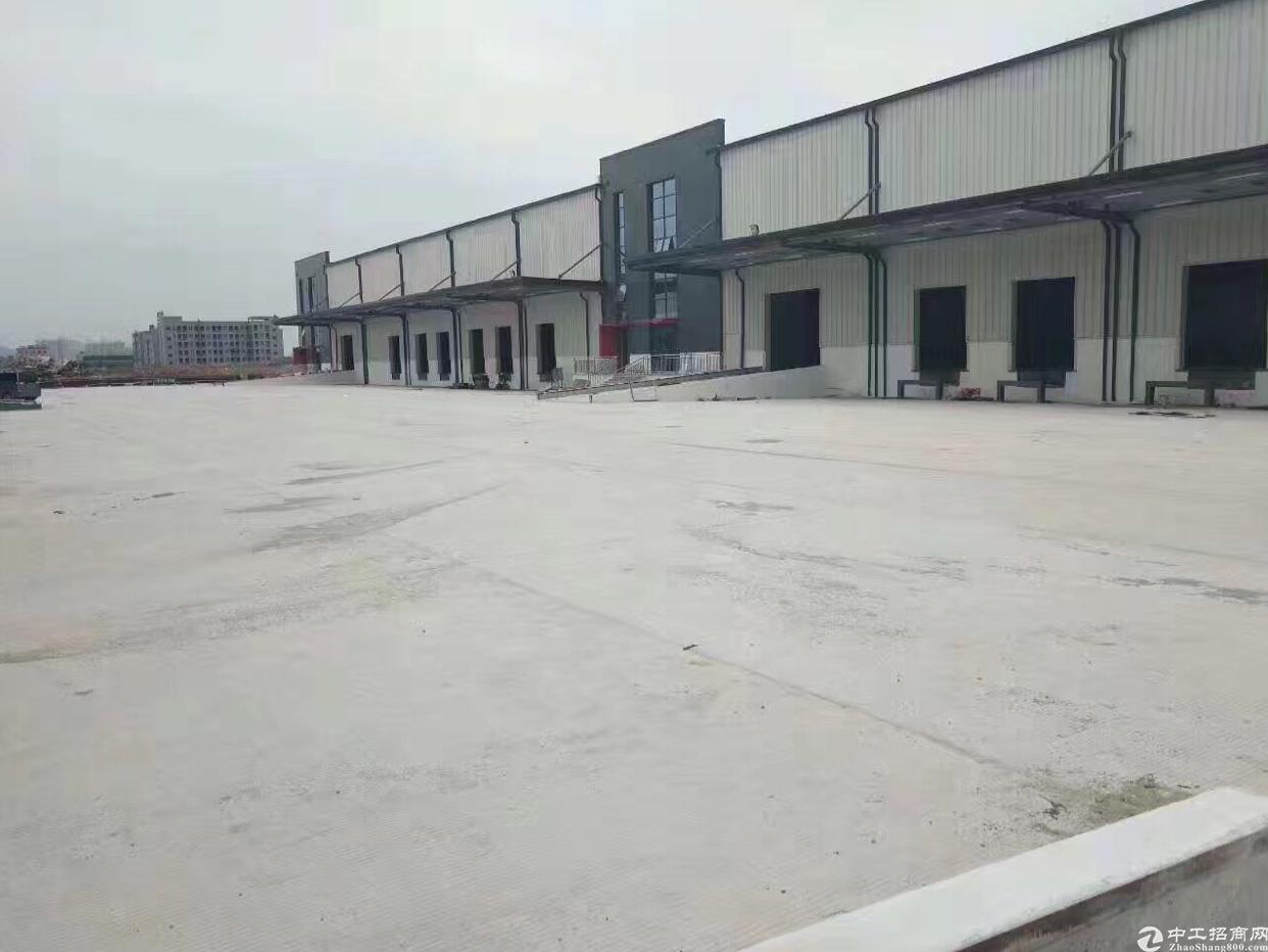 福永2.7万平大型物流基地出租有卸货台空地超大-图2