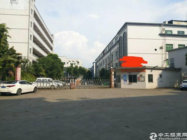 寮步镇新出独院标准厂房三层4500平方