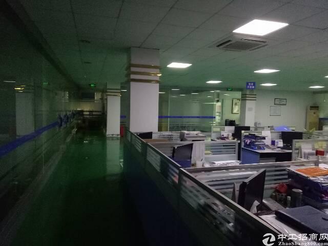 福永宝安大道地铁口附近科技园1800平招租-图4