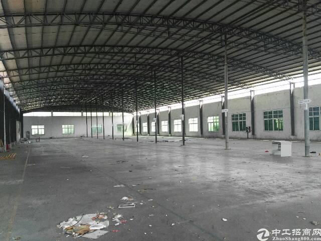 高埗镇独门独院带卸货平台单一层物流仓库出租-图2