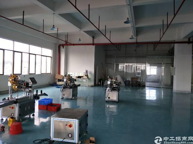长安厦岗新出600平米精装修厂房