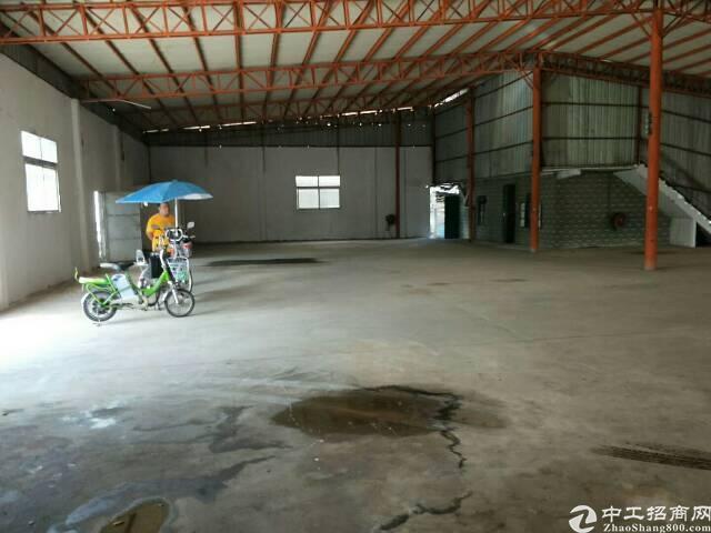 樟木头镇独院厂房1200平方可做仓库和有污染 行业