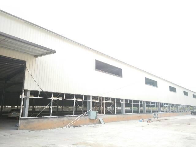 全新独门独院单一层钢结构铁皮房加办公楼宿舍
