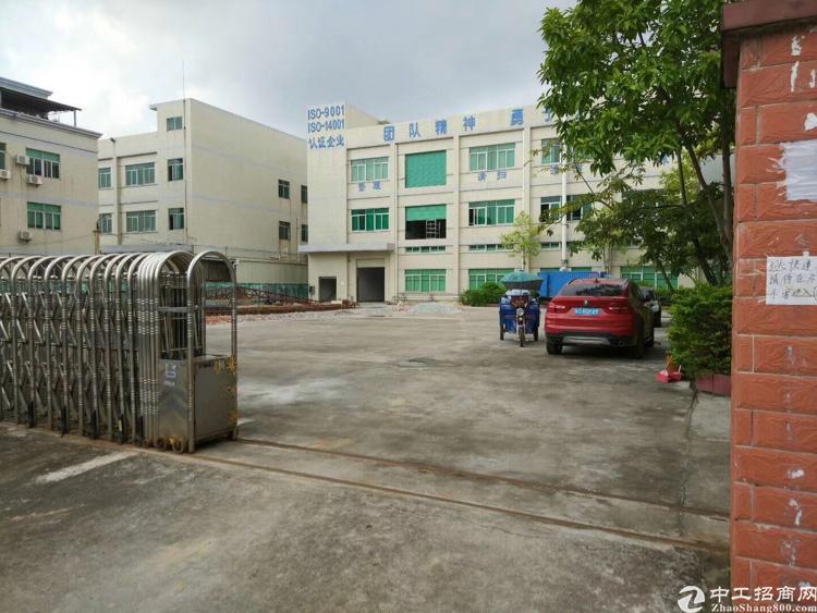 常平独门独院厂房 共12000平 宿舍办公楼1500