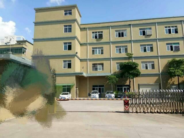 黄江镇靠近太子酒店旁边新出标准厂房楼上一整层1300平方左右