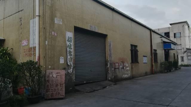 厚街镇陈屋村工业区新空出一楼铁皮550平方