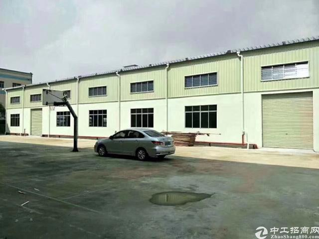 惠州博罗县9500平钢结构厂房出售