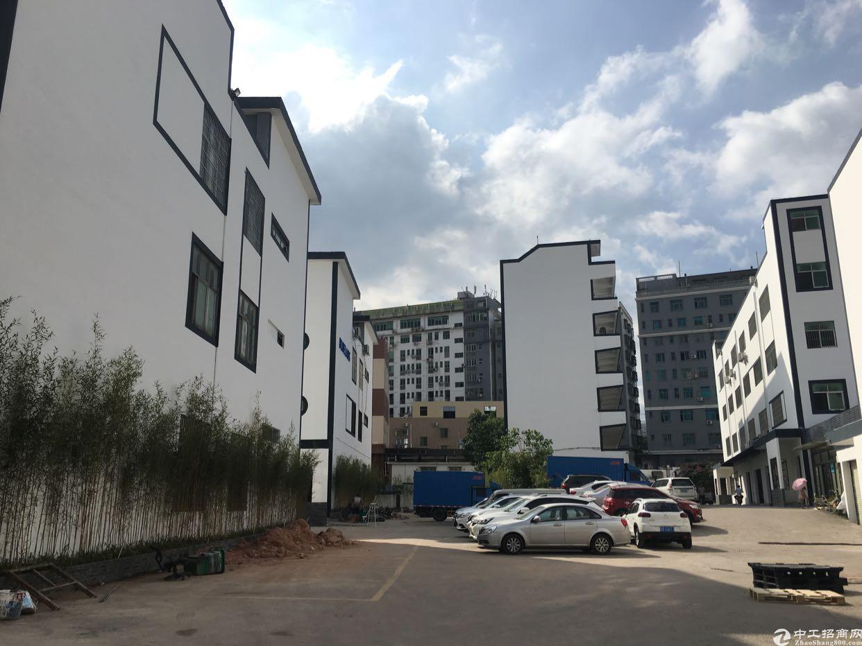 坂田五和地铁站独栋厂房1-3层6900平方可分租