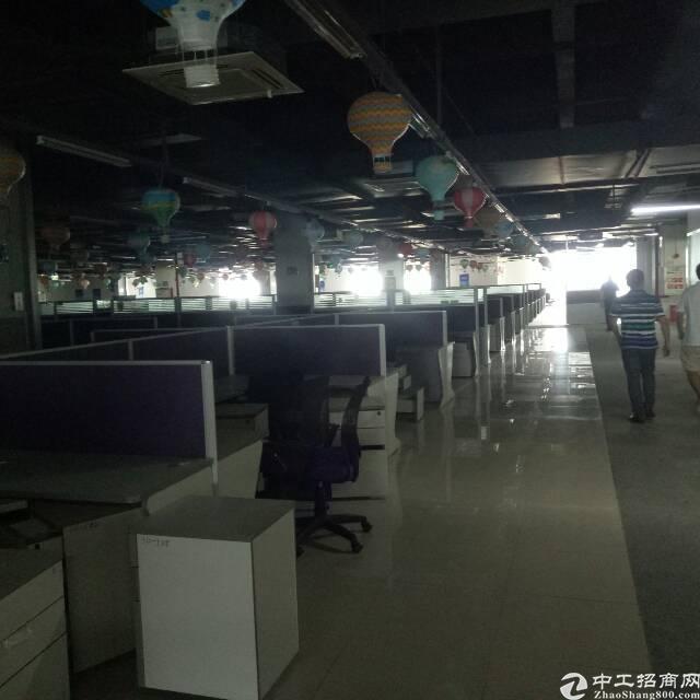 大宁厂房3楼3000平方出租可以分租报价10.5块带装修办公-图4