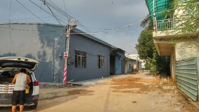 横沥镇独栋正方形钢构厂房招租