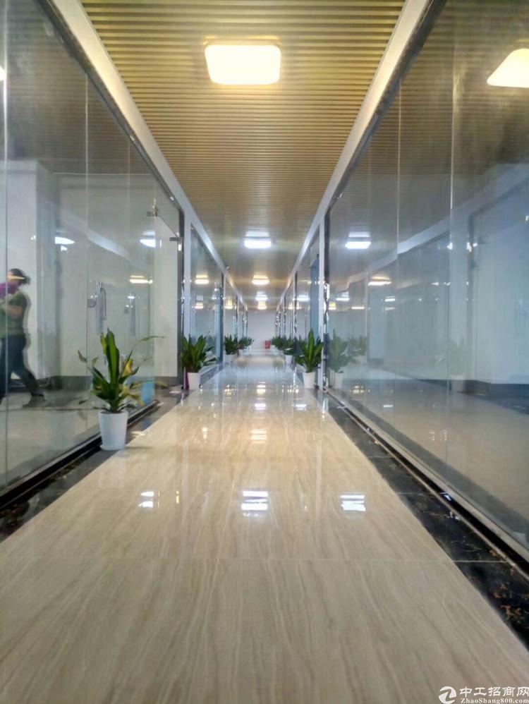 清湖地铁站旁豪华装修办公室出租