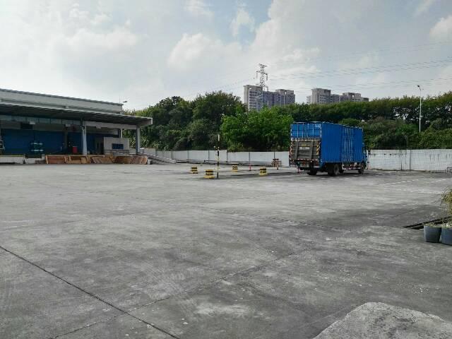 高埗镇独门独院配套10000平方空地钢构厂房出租