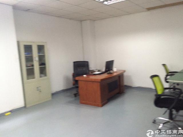 公明红星村靠石岩楼上带办公室装修700平方厂房出租-图5