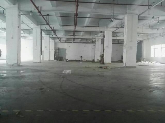 龙华龙胜地铁站布龙路边上带消防喷淋一楼厂房出租2100平方可