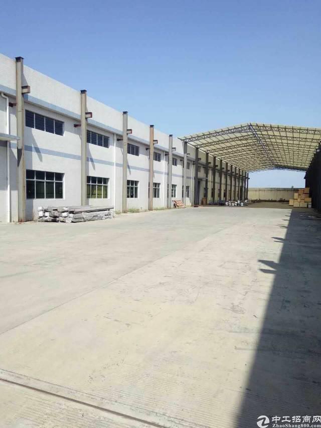 博罗县园洲镇原房东独院单一层厂房4300平方出租