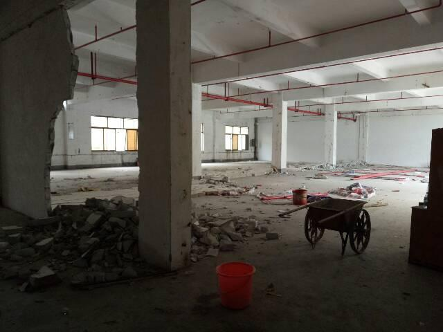 厚街镇新塘村新出原房东一楼厂房650平方米
