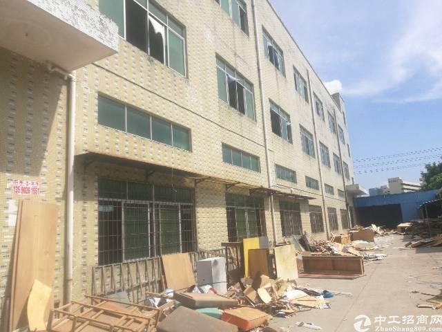 公明将石新出独院三层厂房5100平米