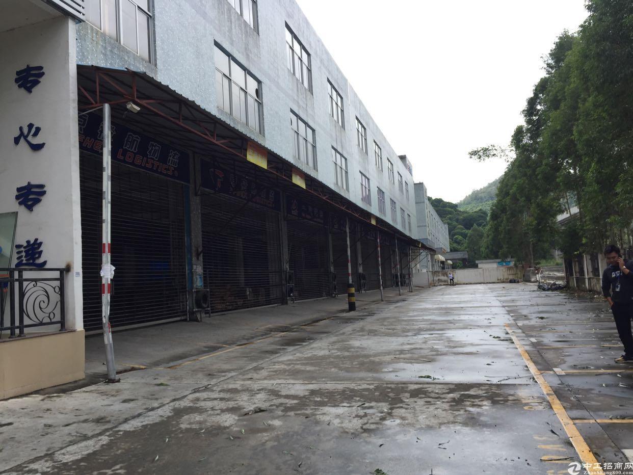 福永107国道边独院12500平米厂房招租