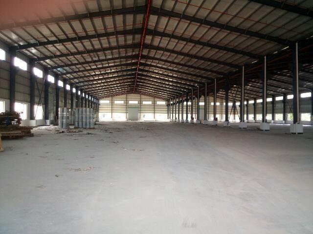 桥头新出单一层钢构厂房4500㎡出租