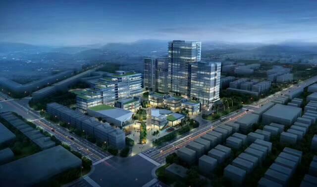 龙岗商业区占地面积独立产权十二万平方米