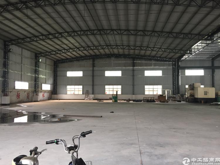 清溪镇原房东钢构2650平,滴水8米,带现成办公室,近高速