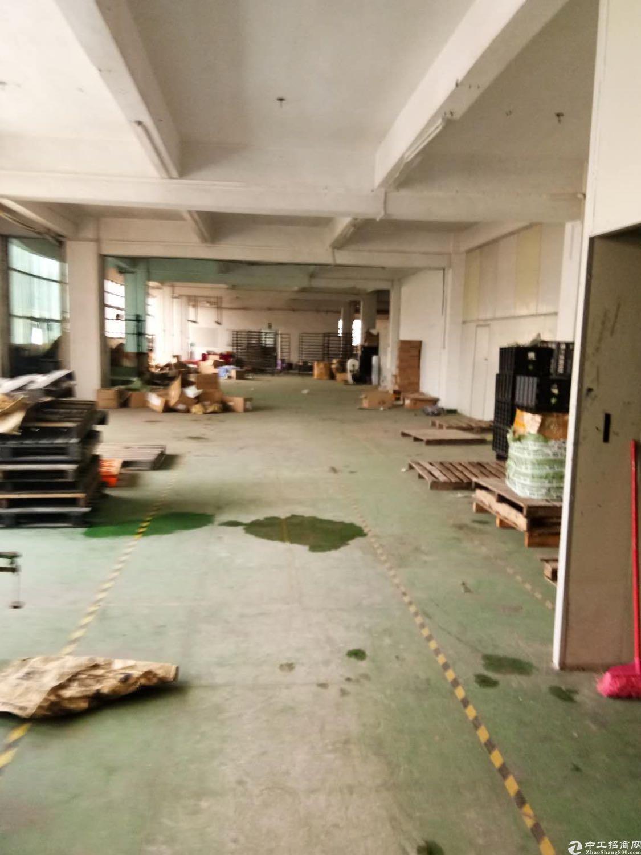 黄江镇星光村靠近深圳新出楼上带货梯厂房