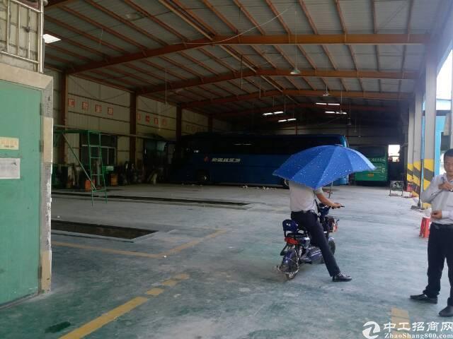 龙华汽车站后7米钢构厂房2000平方出租,空地大