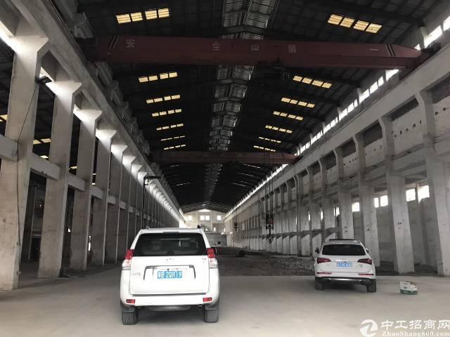 常平新出17高独院钢构单一层厂房带现成行车!-图2