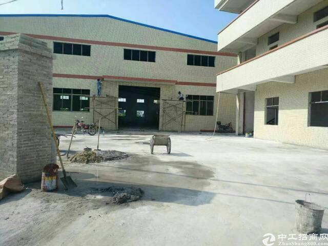 独门独院单一层钢结构厂房