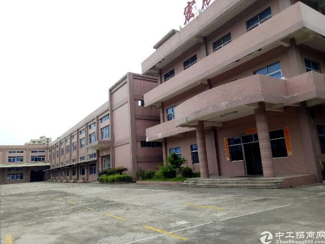厚街镇新塘村原房东出租标准厂房1500平方